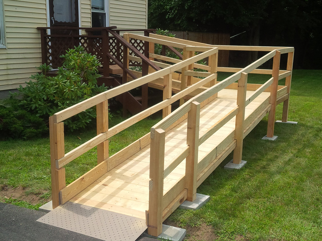 Wood Wheelchair Ramps Handicap National Ramp