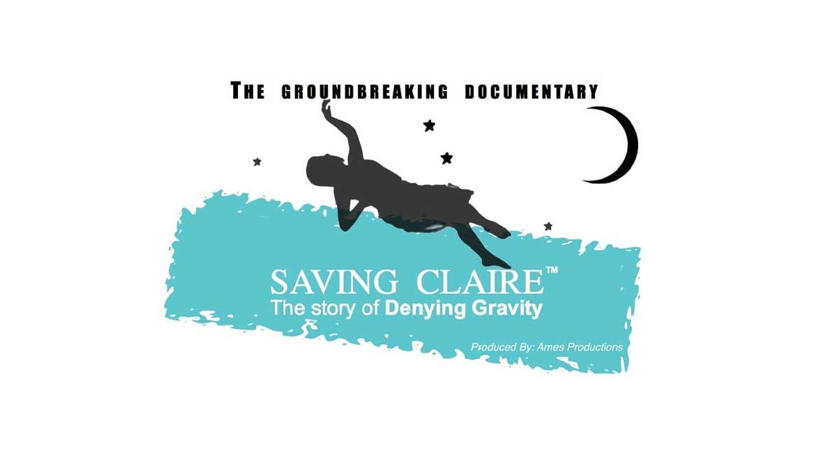 The Saving Claire documentary logo.