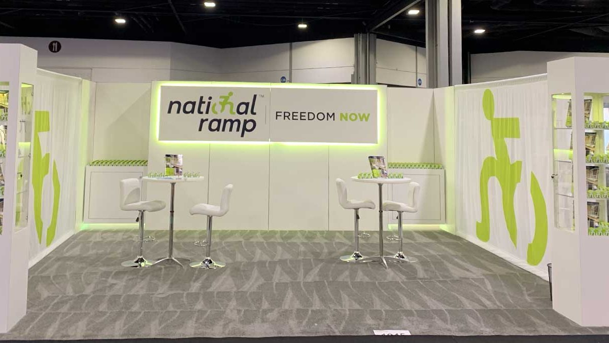 an image of a National Ramp tradeshow booth.